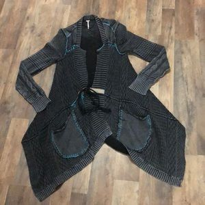 Free People All Washed Out Cardigan large